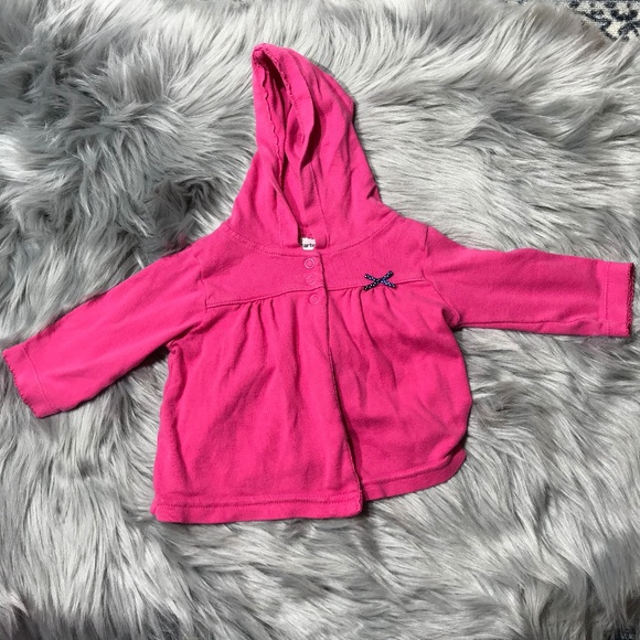 Carter's hot pink 3M light weight jacket